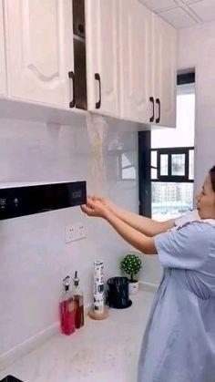 Kitchen Cupboard Designs, Kitchen Room Design, Diy Kitchen Storage, Home Room Design, Modern Kitchen Design, Home Decor Kitchen, Interior Design Kitchen, Kitchen Organization, College Organization