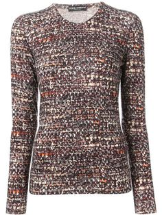 Shop Dolce & Gabbana boucle knit top in Loschi from the world's best independent boutiques at farfetch.com. Over 1000 designers from 60 boutiques in one website.