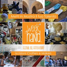 #weekhand2016 call to #crafters #makers