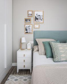 Kenay Homes: un ático renovado - Deco Interior Design Living Room Warm, Diy Home Decor Bedroom, Bedroom Layouts, Bedroom Colors, Minimalist Home, Decoration, Valencia, Industrial, Blog