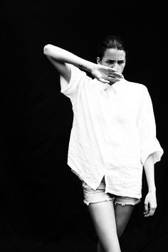 Black & white photography.
