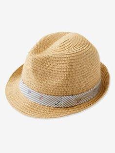 Fashion Hommes Femmes Garçon Fille fait main chapeau de cow-boy Plage Chapeau De Soleil Paille Derby Cap