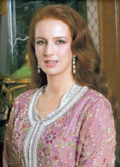 Princess Lalla Salma, wife of the King of Morocco