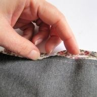 Want to know the trick to catching the reverse side of your bias binding tape every time?