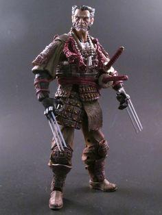 Samurai Wolverine (Marvel Legends) Custom Action Figure