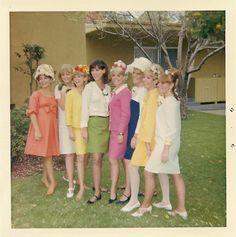 Easter in Sherman Oaks, California, 1967.