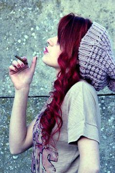 burgundy-hair-color-ideas-with-highlights-6