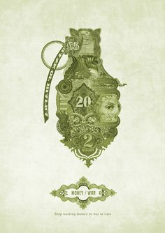 Money Posters by Graziano Losa, via Behance