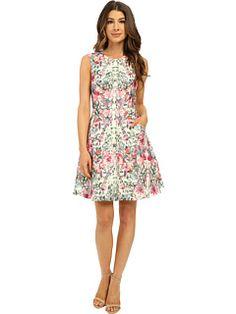 Ted Baker Gaea Layer Bouquet Full Skirt Dress