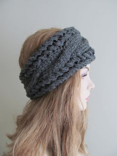 Knit headbands-definitely need to make this!