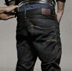 G-Star Type C - amazing pockets! Nudie Jeans, Denim Jeans, Marley Twist Hairstyles, Sagging Pants, G Star Raw Jeans, Estilo Denim, Curvy Petite Fashion, Raw Denim, Dark Jeans