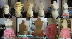 Carved torso