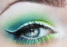 Kassie E.'s Sea Foam look on Makeupbee...love the greens.