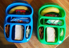 Goodbyn... Can place fruit/veggies/chips etc without packaging