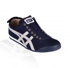 Onitsuka Tiger - Mexico 66 Slip On - Navy/Grey - D3K0N 5011