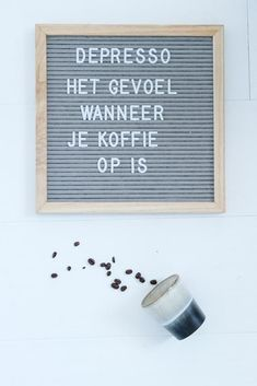 Nederlandse koffie teksten voor je letterbord – Coffee quotes Brought to you by Insider Guide to Cancun. Save on your dream vacation at less then you pay for an average trip. Have fun while drinking coffee! Post Quotes, Find Quotes, Motivational Quotes For Life, Success Quotes, Positive Quotes, Me Quotes, Inspirational Quotes, Discover Quotes, Staff Motivation