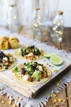The ultimate in South of the border street food. Full of smokey chipotle flavour and cool guacamole, we love these pulled pork loin tacos. Pork Loin, Pork Roast, Dried Black Beans, Black Bean Recipes, Chipotle Sauce, Pulled Pork Recipes, Mexican Food Recipes, Ethnic Recipes, Guacamole Recipe