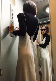Photo (Fashion Gone rouge) Looks Style, Style Me, Fashion Gone Rouge, Inspiration Mode, Fashion Inspiration, Look Vintage, Look Chic, Mode Style, Jeanne Damas