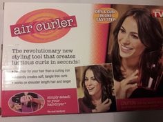 Air Curler- As Seen On TV #AIRCURLER #hair #hairtools #beauty
