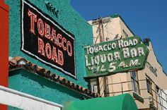 Tobacco Road, Miami's 100 year old bar/ former prohibition-era speakeasy in Nov 2014 Tabacco Road closed its doors SO SAD Old Florida, Miami Florida, Costa, Miami Music, Book City, Amazing Places On Earth, Old Bar, Magic City, Helicopter Tour