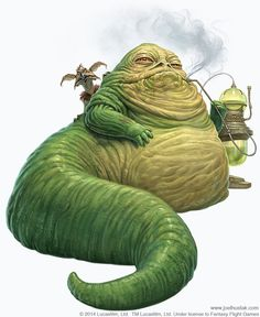 Star Wars: Edge of the Empire - Lords of Nal Hutta // Jabba The Hutt by Joel Hustak Aliens, Star Wars Species, Star Wars Characters Pictures, Movie Characters, Edge Of The Empire, Jabba The Hutt, Star Wars Rpg, Star Trek, Star War 3