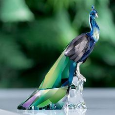Swarovski Peacock - Dad's birthday