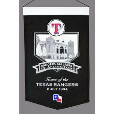 Texas Rangers MLB Rangers Ballpark Stadium Banner (20x15)