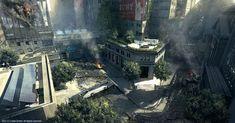 Crysis 2 - wall street by tiger1313.deviantart.com on @deviantART