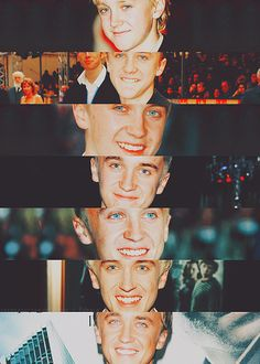 Tom Felton! those eyes!