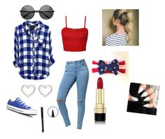"""HAPPY 4OF JULY"" by liltwinki on Polyvore"