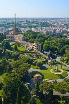 Giardini del Vaticano, Rome, Italy