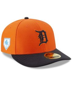 9074a174fd9 New Era Detroit Tigers Spring Training 59FIFTY-fitted Low Profile Cap -  Blue 6 7 8