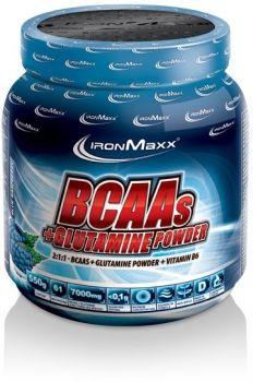 BCAAs + L-Glutamin Powder IRONMAXX, 550 g