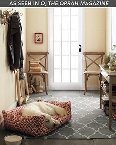 Bogart Flat-Weave Wool Rug - Garnet Hill
