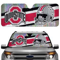 Ohio State Buckeyes Auto Sun Shade