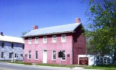 """Levi Coffin Home in Fountain City, Indiana  """"home of the underground railroad"""""""