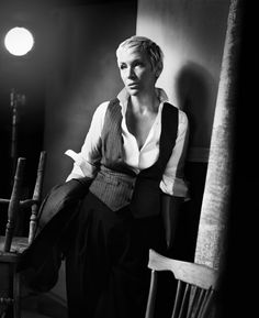 """""""If we value what we've inherited for free - from other women - surely it's right morally and ethically for us to wake up and say, 'I'm a feminist. '"""" ~Annie Lennox"""