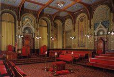Interior templo masonica....!!! #Masoneria