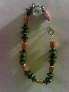 Items similar to hematite bracelet on Etsy Hematite Bracelet, Trending Outfits, Unique Jewelry, Bracelets, Handmade Gifts, Etsy, Vintage, Kid Craft Gifts, Craft Gifts