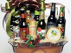 Beer gift baskets can make for unique gifts that are sure to leave an impression on the person you give them to. Here are some tips for buying beer gift baskets Buy Beer, Beer Gifts, Gift Baskets, Wine Rack, Unique Gifts, Guy, How To Make, Lifestyle, Original Gifts