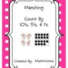 This is a matching game to help students count by 10's, 5's, and 1's.  There are 2 sets of cards (green & pink) in this download.  Cut each set...
