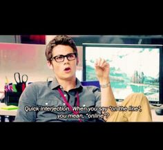 The Internship (Dylan O'Brien) and teen wolf😍😍😍😍😍 Dylan O'brien, Tv Quotes, Movie Quotes, Funny Quotes, Teen Wolf, Stiles, O Brian, Job Opening, Film Serie