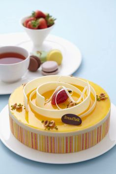breadtalk mango empire cake