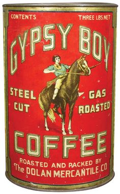 Gypsy Boy Coffee 3 Pound Tin