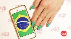 やるなら今 ブラジル国旗ネイルの作り方