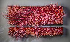Wind & Water: Flux. glass artist Shayna Leib