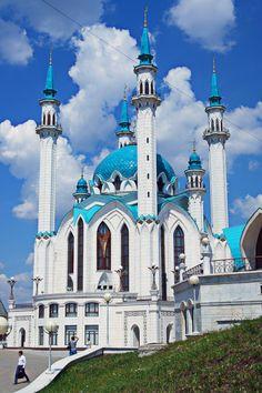Мечеть Кул-Шариф. Казань. #Красоты_России #КрасотыРоссии #Россия