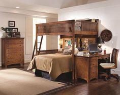 twin/queen bunk beds | Bunk Bed Plans Twin Over Queen in Bed
