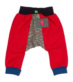 Oishi-m Red Are You In Harem Pants - Infant & Toddler Slouchy Pants, My Boys, Harem Pants, Kids Outfits, Infant, Sweatpants, Track, Swimwear, Clothes
