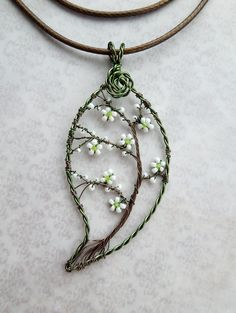 May pendant | by Louise Goodchild